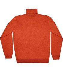 maglione da uomo, lanieri, extra fine mattone, quattro stagioni   lanieri