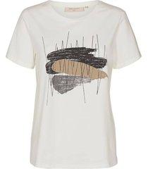 t-shirt nola gebroken wit