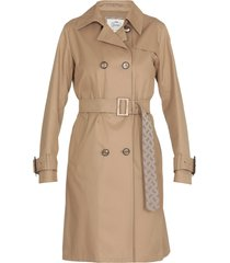 herno trench with belt
