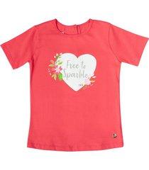 camiseta coral estilo rosa nuria