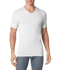men's tommy john second skin high v-neck undershirt, size xx-large - white