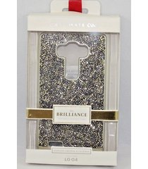 brand new 100% authentic case-mate brilliance champagne crystal case for lg g4