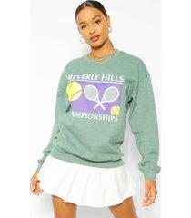 beverley hills tennis sweater, light khaki