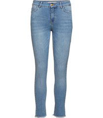 killa skinny jeans blå custommade