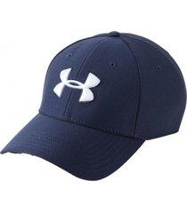 gorra azul under armour blitzing 3.0