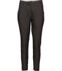 angelie 697 split, nuvo dark grey, pants rechte jeans grijs fiveunits