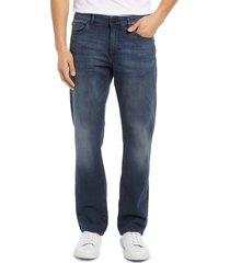 men's dl1961 men's avery modern straight leg jeans, size 31 x 32 - blue