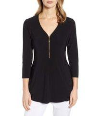 women's chaus front zip top