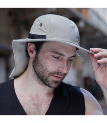 cappello da pescatore in cotone mesh