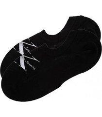 calcetín limited negro calvin klein