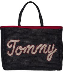 bolso azul tommy hilfiger th summer