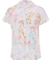blouse 100% zijde van uta raasch multicolour