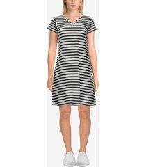 ruby rd. plus size maritime stripe dress