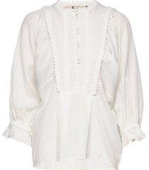 blouse blus långärmad vit noa noa