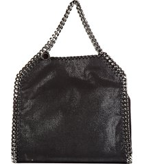 borsa donna a mano shopping falabella mini shaggy deer
