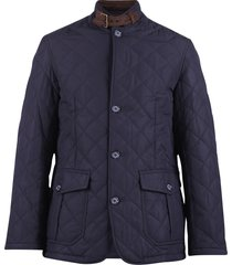 barbour padded jacket