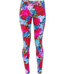 rose printed legging
