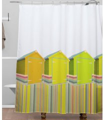deny designs iveta abolina lets live in a beach shed shower curtain bedding