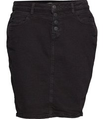 skirts denim kort kjol svart esprit casual