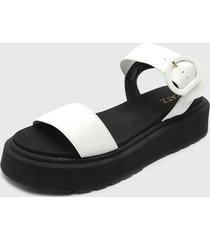 sandalia blanco zatz