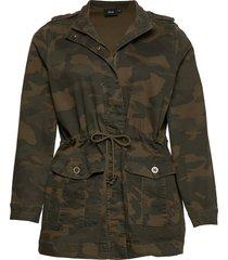jjune, l/s, jacket outerwear jackets utility jackets groen zizzi