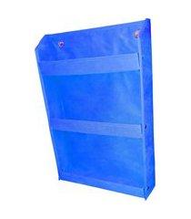 revisteiro prateleira montessoriano organibox - azul