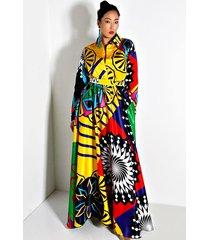 akira above it all long sleeve maxi dress