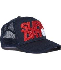 superdry lineman trucker cap