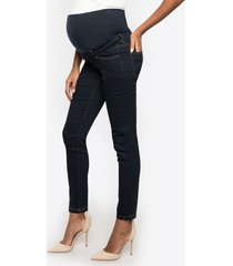 jeans premaman a sigaretta fascia senza cuciture - clint seamless