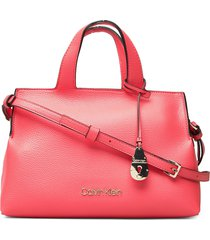 neat tote md bags top handle bags rood calvin klein