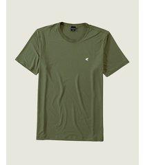 camiseta tradicional em viscose malwee verde musgo - g