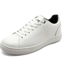 tenis blanco-azul us polo assn