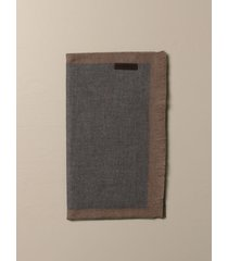 ermenegildo zegna scarf ermenegildo zegna scarf in bicolor wool