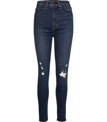 ultra high rise super skinny skinny jeans blå abercrombie & fitch
