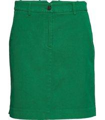 woven skirts kort kjol grön marc o'polo