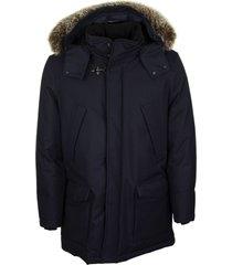 fay parka jacket whit fox fur