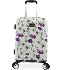 "bebe alexandra 21"" carry-on spinner suitcase"