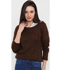 sweater chocolate romano agueda
