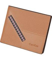 cartera para hombre- cartera monedero billetera billetera-