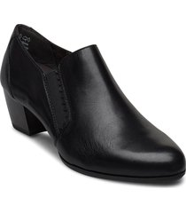 woms slip-on shoes boots ankle boots ankle boot - heel svart tamaris