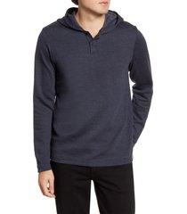 men's travismathew bona fide pullover hoodie, size medium - blue