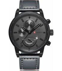 reloj deportivo hombre cuarzo curren 8217 gris