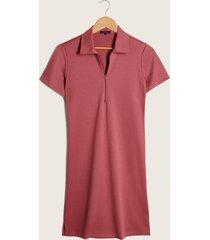 vestido manga corta coral-6