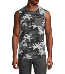 camo sleeveless t-shirt
