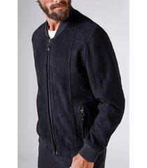 jaqueta bomber suede reserva masculina
