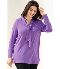 shirt m. collection paars