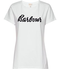 barbour rebecca tee t-shirts & tops short-sleeved vit barbour