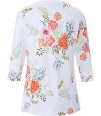 pyjama 100% katoen bloemenprint van eva b. bitzer wit