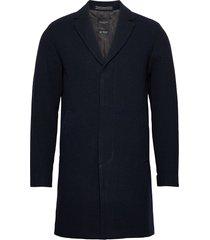 slhhagen wool coat b noos wollen jas lange jas blauw selected homme