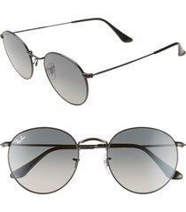 women's ray-ban 53mm round retro sunglasses -